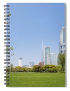 Central Shanghai In China Spiral Notebook