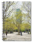 Central Shanghai Park In China Spiral Notebook