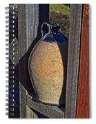 Ceramic Jug Spiral Notebook