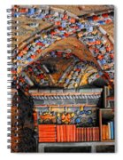 Ceramic Pillars Spiral Notebook