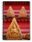 Ceramic Prayer Spiral Notebook