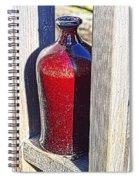 Ceramic Vase Spiral Notebook