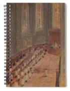 Ceremony Of Ordination At Lyon Cathedral Spiral Notebook