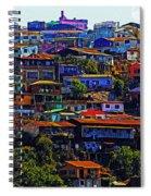 Cerro Valparaiso Spiral Notebook