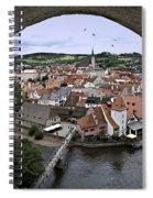 Cesky Krumlov  Spiral Notebook