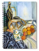 Cezanne Still Life With Apples In Watercolor Spiral Notebook