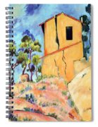 Cezanne's House With Cracked Walls Spiral Notebook