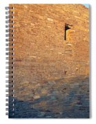 Chaco Canyon Indian Ruins, Sunset, New Spiral Notebook