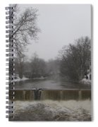 Chagrin Falls Xmas Spiral Notebook