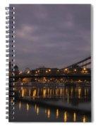 Chain Bridge Dawn Spiral Notebook