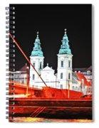 Chain Bridge Spiral Notebook