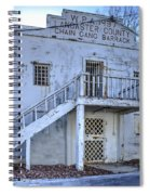 Chain Gang Barrack Spiral Notebook