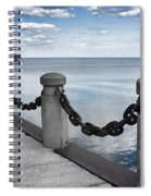 Chain Linked Spiral Notebook