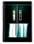 Chained Shut Spiral Notebook