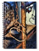 Chained Spiral Notebook