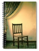 Chair And Curtain Spiral Notebook