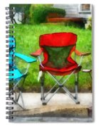 Chair Family Spiral Notebook