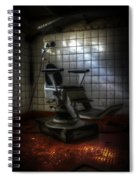 Chair Of Horror Spiral Notebook
