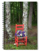 Chair Of The Grand Elf Spiral Notebook