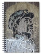 Chairman Mao Portrait Spiral Notebook