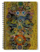 Chakra Shield Spiral Notebook