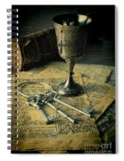 Chalice And Keys Spiral Notebook