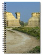 Chalk Pyramids Spiral Notebook