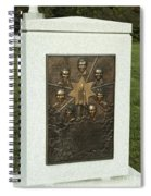 Challenger Monument Spiral Notebook