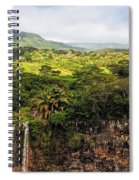 Chamarel Waterfall. Mauritius Spiral Notebook