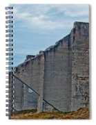 Chambers Bay Architectural Ruins Spiral Notebook