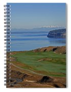 Chambers Bay Golf Course - University Place - Washington Spiral Notebook