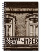 Chambres Imperial Lisbon Spiral Notebook
