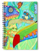 Chameleon And Toucan Spiral Notebook
