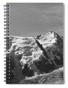 Chamonix Mont Blanc Spiral Notebook