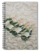 Champagne Cooling Spiral Notebook