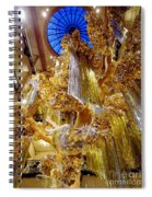 Champagne Dreams Spiral Notebook