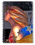 Champagne Spiral Notebook