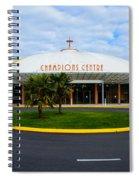 Champions Center Spiral Notebook
