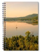 Champlain Viewed From Ticonderoga Spiral Notebook