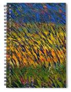 Champs De Ble Spiral Notebook