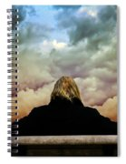 Chance Of Rain First Panel  No Umbrella Spiral Notebook