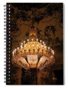 Chandelier Palacio Real Spiral Notebook