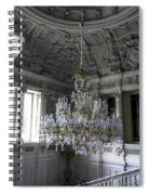 Chandelier - Yusupov Palace - Russia Spiral Notebook