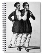Chang And Eng (1811-1874) Spiral Notebook
