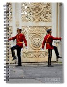 Change Of Guards Ceremony Dolmabahce Istanbul Turkey Spiral Notebook