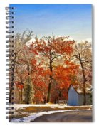 Change Of Seasons Spiral Notebook