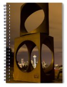 Changing Form Of Seattle Spiral Notebook