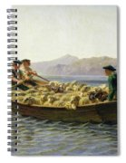 Changing Of Meadow Spiral Notebook