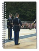Changing Of The Guard Spiral Notebook