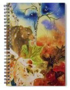 Changing Of The Seasons - Square Format Spiral Notebook